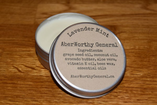 lavender mint body butter
