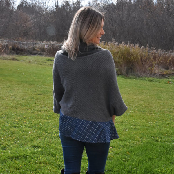 Ladies Large Shrug Sweater